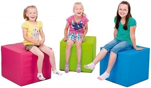 1 x P  Spiel- und Sitzwürfel 'hellGrün' - Kantenl e  45cm - H   50cm