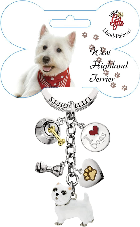 LittleGifts handbemalt West Highland Terrier Terrier Terrier Schlüsselanhänger B003O69SGE 56f547
