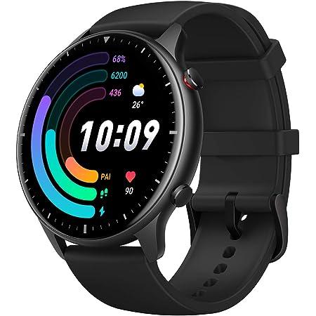 """Amazfit GTR 2e Smartwatch Orologio Intelligente AMOLED da 1,39"""", 90 Modalità di Allenamento, 5 ATM Impermeabile, Durata della Batteria di 24 giorni, Monitor del Sonno, Uomo, Donna, Nero"""