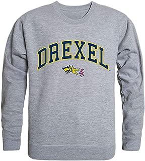 W Republic Drexel University Campus Crewneck Pullover Sweatshirt Sweater Heather Grey