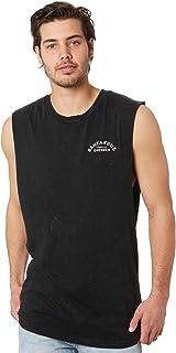 Santa Cruz Men's Dressen Rose Kit Mens Muscle Sleeveless Cotton Black