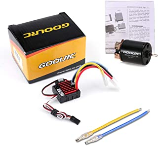 Best rc brushed motor combo Reviews