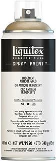 Liquitex Professional - Acrílico en spray, 400ml, oro antiguo iridiscente