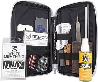 Demon Mechanic Ski & Snowboard Tuning Kit with Universal Wax & Base Cleaner
