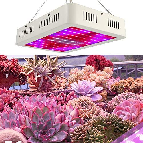 ohcoolstule Luz LED de Crecimiento de 1000W Plantas de Invernadero con Verduras Cambio de Plantas de Invernadero Luz de Crecimiento de Flores Enchufe 85 - 265V
