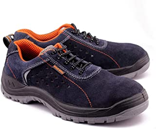 Wild Bull Safety Shoes with Steel Toe for Men Player Sports
