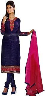 ladyline Designer Party Wear Bollywood Georgette Embroidered Salwar Kameez Suit Indian