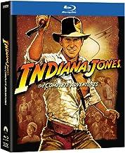 Indiana Jones: The Complete Adventures (Raiders of the Lost Ark / Temple of Doom / Last Crusade / Kingdom of the Crystal Skull) [Blu-ray]