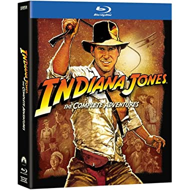 Indiana Jones: The Complete Adventures (Raiders of the Lost Ark/Temple of Doom/Last Crusade/Kingdom of the Crystal Skull) [Blu-ray]