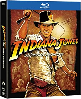 Indiana Jones: The Complete Adventures [Blu-ray] [US Import] (B000NQRE9Q) | Amazon price tracker / tracking, Amazon price history charts, Amazon price watches, Amazon price drop alerts