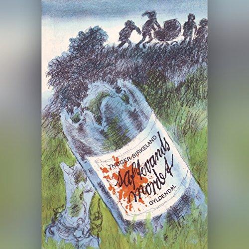 Saftevands-mordet audiobook cover art