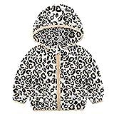 RAISEVERN Bebés Niños Niñas Abrigos de Invierno Capuchas Chaqueta de plumón Ligera Outwear