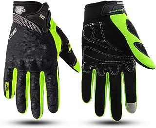 Motorcycle Gloves Men Racing Gant Moto Motorbike Motocross Riding Gloves Breathable Summer Touch screen gloves Large orang...