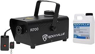 Rockville Fog/Smoke Machine w/Remote+Fluid, Quick Heatup Time (R700)