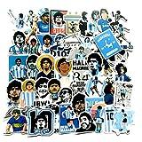 ディエゴ・マラドーナ アルゼンチン代表 ナポリの王様 神の手 サッカー選手 フットボール シール ステッカー50枚