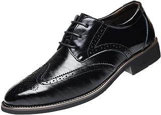 71632a53a67f7c CIELLTE Chaussures Chaussures Habillée Homme Homme Cuir Derby Elégant  Oxford Business Chaussures Bateau Vintage Classic Affaires