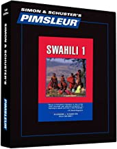 Pimsleur Swahili Level 1 CD: Learn to Speak and Understand Swahili with Pimsleur Language Programs (1) (Comprehensive)