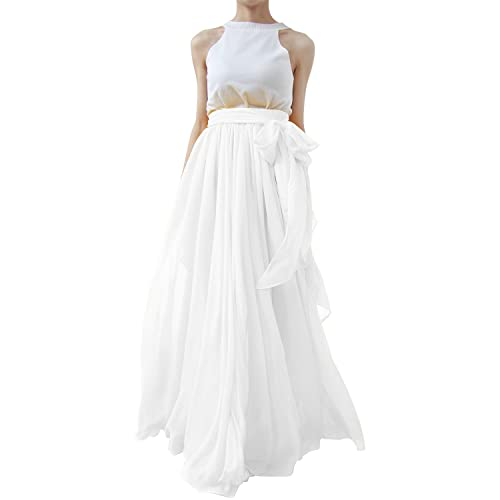 factory outlets top quality the latest Wedding White Maxi Skirt: Amazon.com