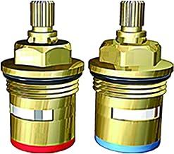 Ceramic Discs, Brass, 0.5-Inch