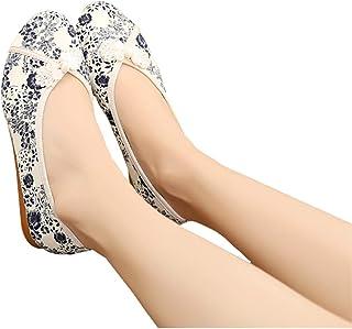 Nieuwe platte bodem oude Peking doek schoenen etnische stijl geborduurd rundvlees pees bodem damesschoenen moeder casual l...