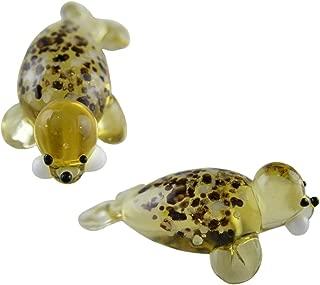 Ganz Miniture Glass Figurines-Glass Aquatic Figurine Animals - Sea Lion