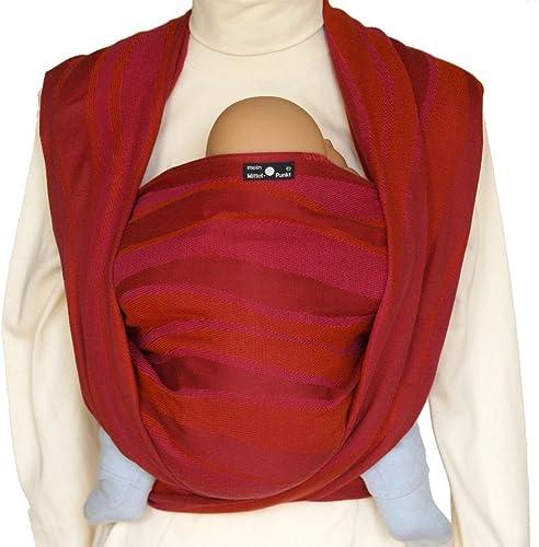 Didymos Echarpe de portage - Vagues Rouge - T 6 (470 cm)
