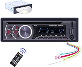 $49 » Hikity Audio System Single Din Car Stereo DVD Player Bluetooth Car Fm Radio Receiver, Hands Free Calling, USB Fast Chargin...