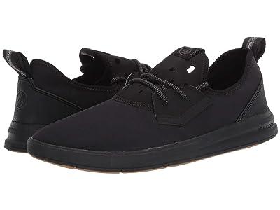 Volcom Draft Eco Shoes (Black Destructo) Men
