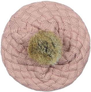 64e6f55f2c1 Mitlfuny Niños Niñas Sombreros de Lana Gruesa para Bebé Invierno Caliente  Boinas Casquillo Punto Croché Color