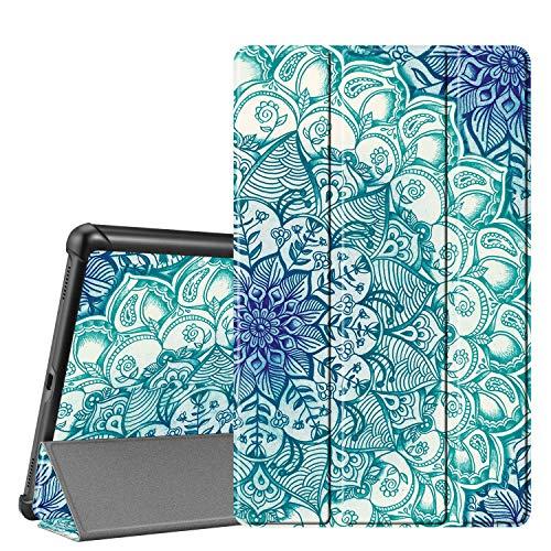 Fintie Hülle für Samsung Galaxy Tab A 10.1 T510/T515 2019 - Ultra Schlank Superleicht Kunstleder Schutzhülle Cover Case mit Standfunktion für Samsung Galaxy Tab A 10.1 Zoll 2019 Tablet, smaragdblau