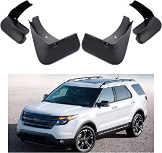 MOERTIFEI Car Mudguard Fender Mud Flaps Splash Guard Kit fit for Ford Explorer 2011-2018