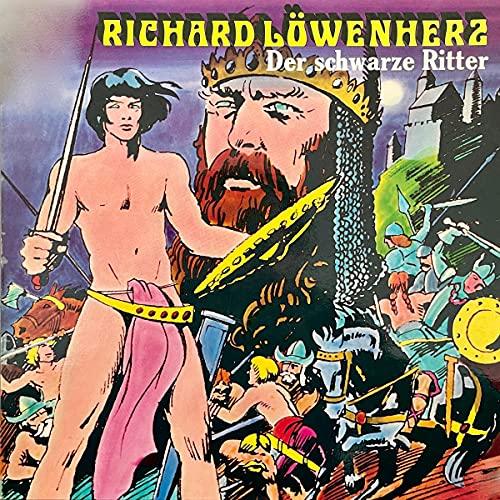 Richard Löwenherz - Der schwarze Ritter cover art