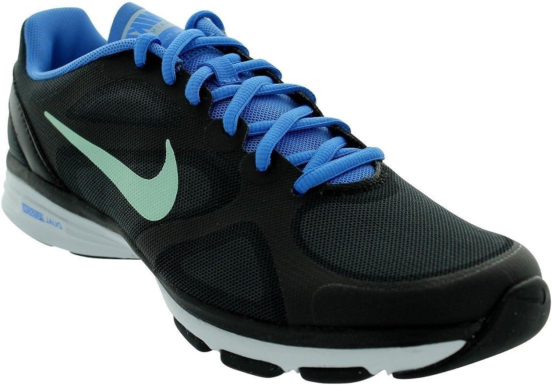 Nike Dual Fusion TR Women's Training shoes 443837 012 Black bluee - US 5