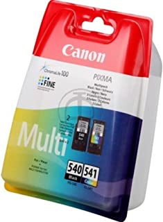 Canon oryginalny - Canon Pixma MG 3600 Series (540541 / 5225B006) - 2 x głowica drukująca Multipack (czarny, cyjan, magent...