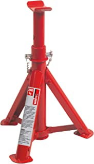 Unitec 10899 - Soporte para chasis (plegable, hasta 2 toneladas), color rojo