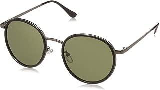 MTV UV Protected Round Unisex Sunglasses - (MTV-137-C4|52|Green Color)