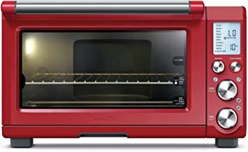 Breville BOV845CRNUSC Smart Pro Countertop Convection Oven, normal, Cranberry Red