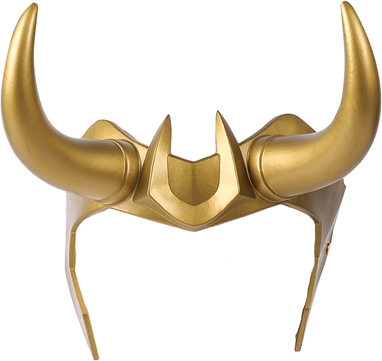 Ragnarok Helmet Mask with Cosplay San Antonio Mall Horns Crown Rapid rise Hall