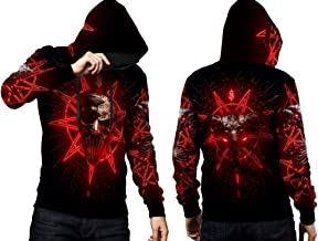 2season5 2019 New Album Slipknot Art 02 Full Print Mens T-Shirt and Hoodie