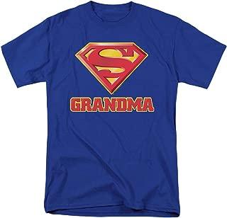 Superman Super Grandma DC Comics T Shirt & Stickers