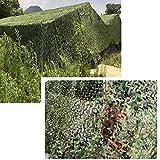 Wilxaw Red de Camuflaje Sombra, 3 X 6 M Caza Militar Decorar Malla de Camuflaje, Camouflage Net...