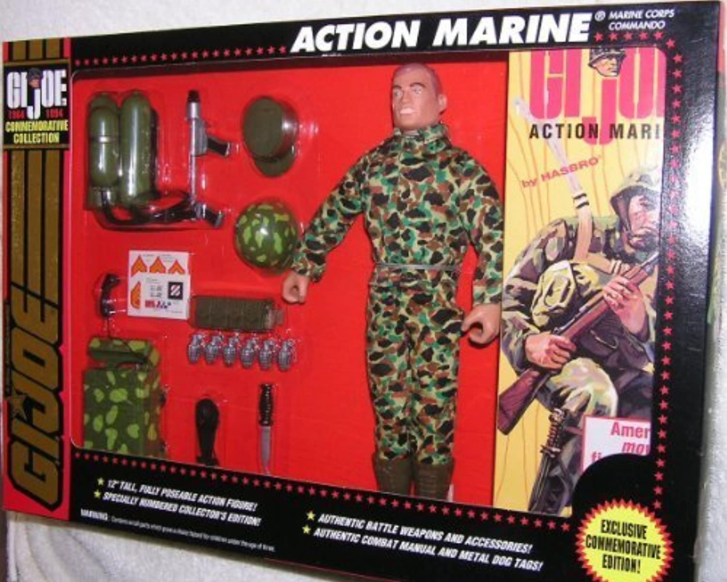 G.I. Joe 30th Anniversary Commemorative 12Action Marine With Accessories by G. I. Joe
