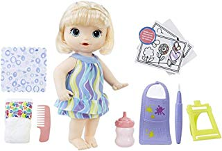 Boneca Baby Alive Pequena Artista Hasbro Loira