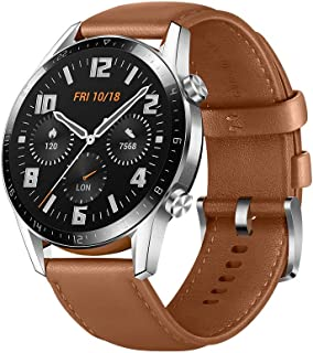 Huawei LTN-B19-BRN GT 2 Smart Watch Stainless Steel with Pebble - Brown (Pack of 1)