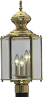brass carriage lamps