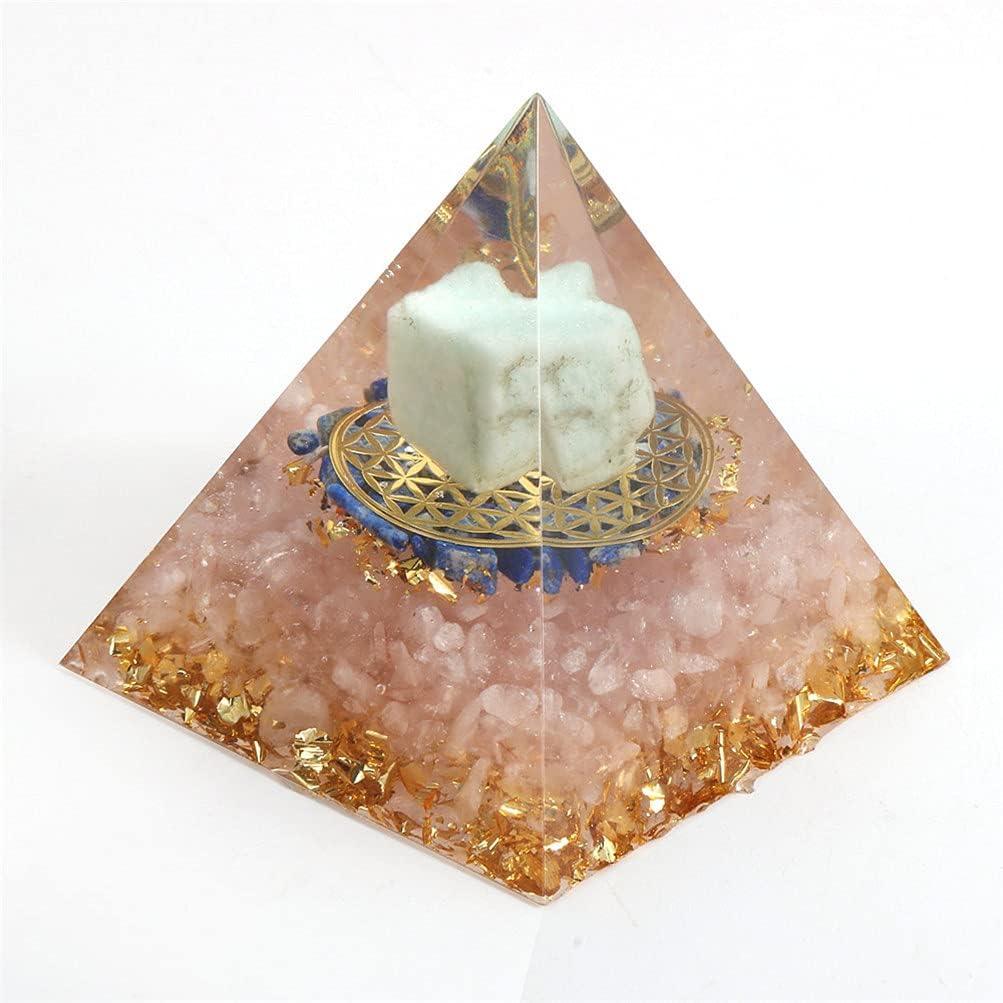 JKWCX Healing Crystal Amazonite Gem Branded goods Stone Ranking TOP3 Amulet Pyramids Energy