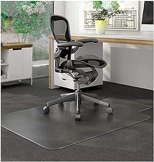 Alfombrilla transparente para silla, alfombra protectora para puerta de oficina, escritorio, oficina, silla, de 1,5 mm, antideslizante, 60 x 60 cm