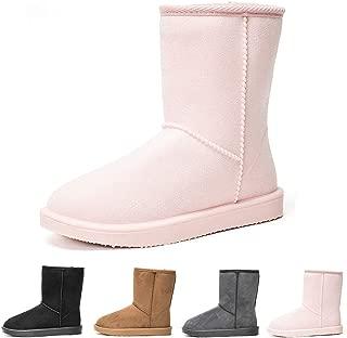 DKSUKO Women's Classic Waterproof Snow Boots Winter Boots