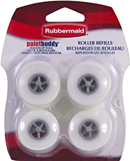 Shur-Line 57933 Rubbermaid Paint Buddy Roller Refills, 4-Pack