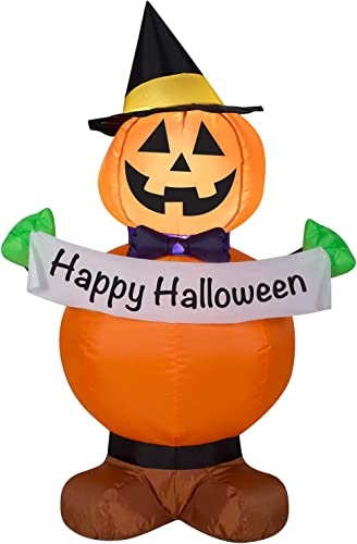high quality Halloween Inflatable 2021 Pumpkin new arrival Witch outlet online sale